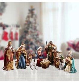 "Avalon Gallery 5"" Michael Adams Nativity Set (9 Pieces)"