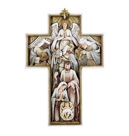 "Avalon Gallery 12"" Nativity Cross Plaque"