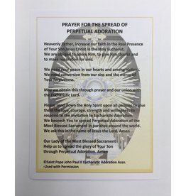 Deacon Jim Stalknecker Prayer for the Spread of Perpetual Adoration