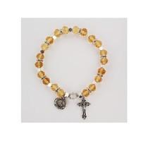 McVan Topaz Rosary Stretch Bracelet