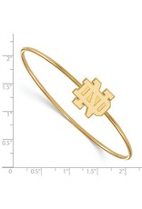 SS GP Logo Art University of Notre Dame Bangle Slip on
