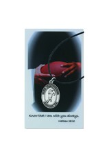 McVan St. Christopher Boys Football Prayer Card Set with Medal