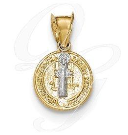 14k St. Benedict Medal Charm