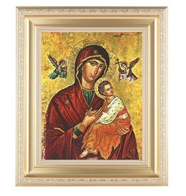 WJ Hirten Our Lady of Passion (Gold Frame)