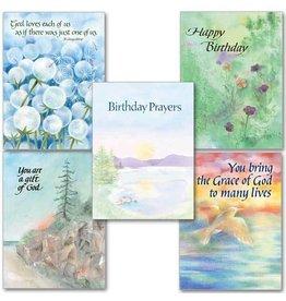 The Printery House Birthday Prayers Box of 10 Cards