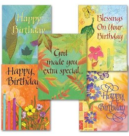 The Printery House Blessings on Your Birthday Assortment - Box of 10 Cards