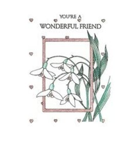 Life Greetings You're a Wonderful Friend
