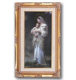 """WJ Hirten 11"""" x 19"""" Divine Innocence Print Framed"""