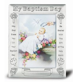WJ Hirten Engravable Baptism Frame