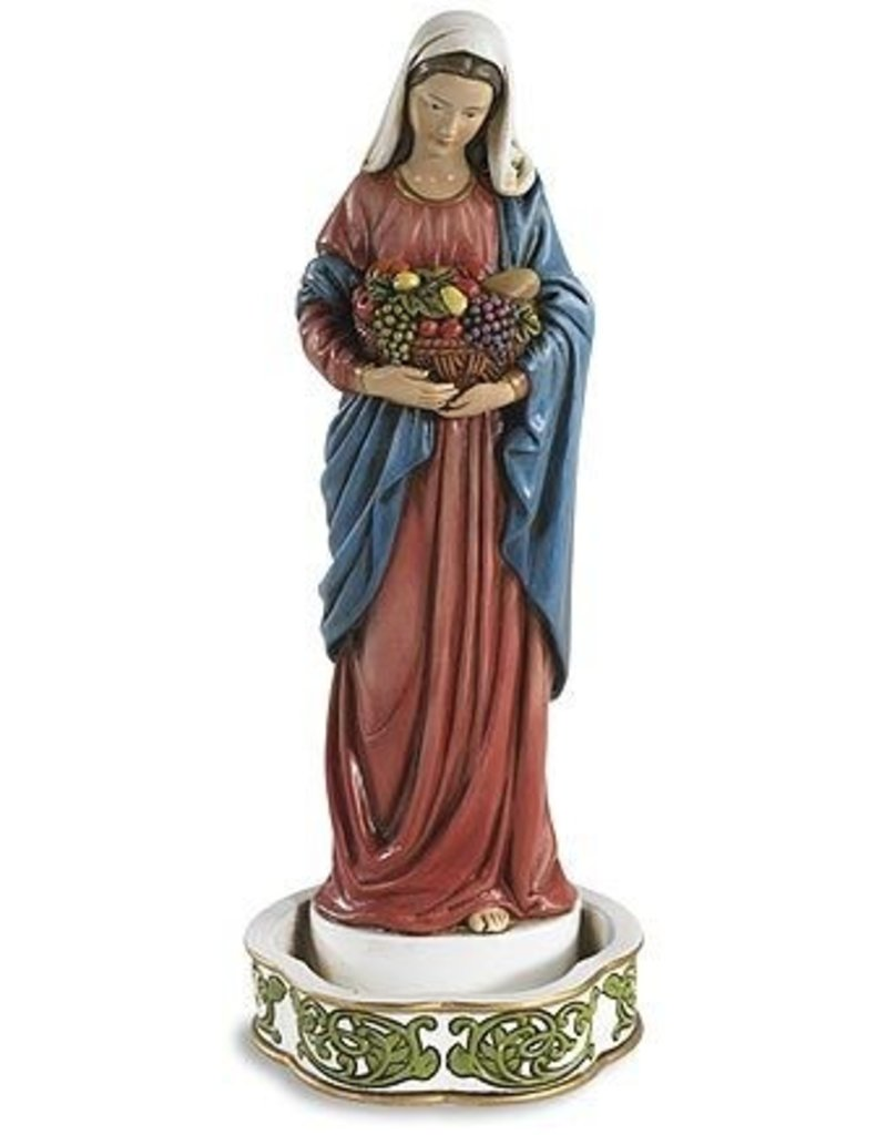 Christian Brands Mary Bountiful Blessings Rosary and Jewelry Holder