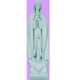 """24"""" Our Lady Of Fatima - Granite Finish"""