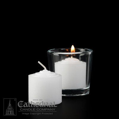 Cathedral Candle Co. 8 Hour Votive Light (Straight Side, Single Candle)