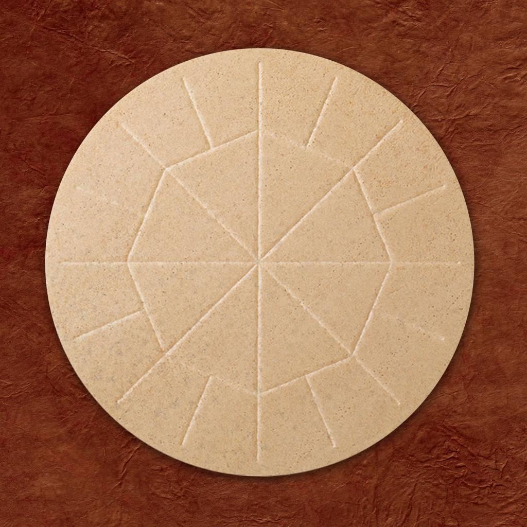 "Cavanagh Altar Bread 5 3/4"" (146mm) - Whole Wheat - Box of 25"