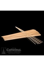 "12"" x 1/8"" Wood Candle Applicator Stick (Box of 500)"