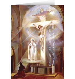 Nelson Fine Art The Last Vision of Fatima Greeting Card