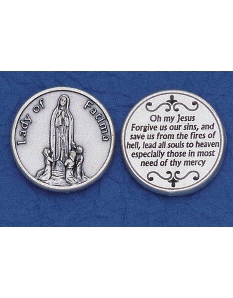 Lumen Mundi Our Lady of Fatima Pocket Token