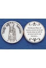 Lumen Mundi Our Lady of Loreto Pocket Token