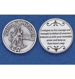 St. Michael Courage Pocket Token