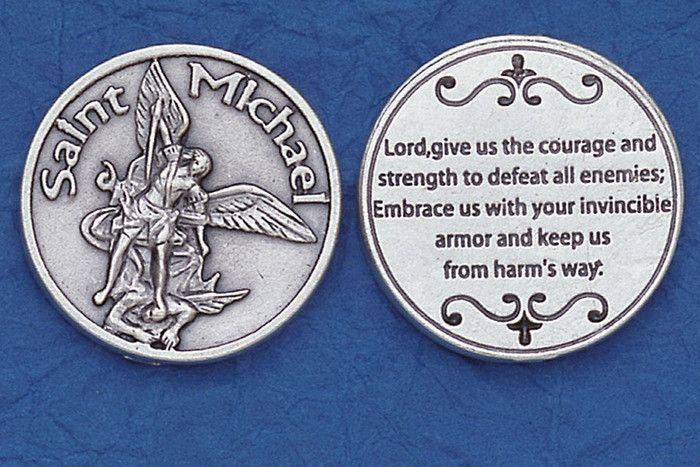 Lumen Mundi St. Michael Courage Pocket Token
