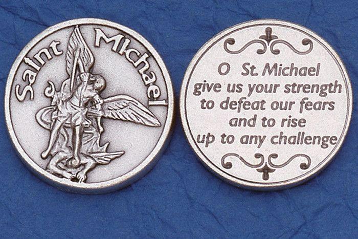 Lumen Mundi St. Michael the Archangel Pocket Token