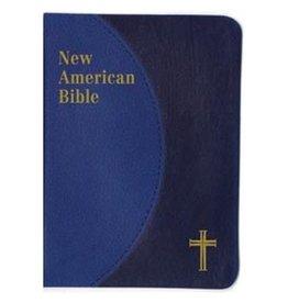 Catholic Book Publishing Corp St. Joseph New American Bible Personal Size Gift Edition Imitation Leather (Blue)