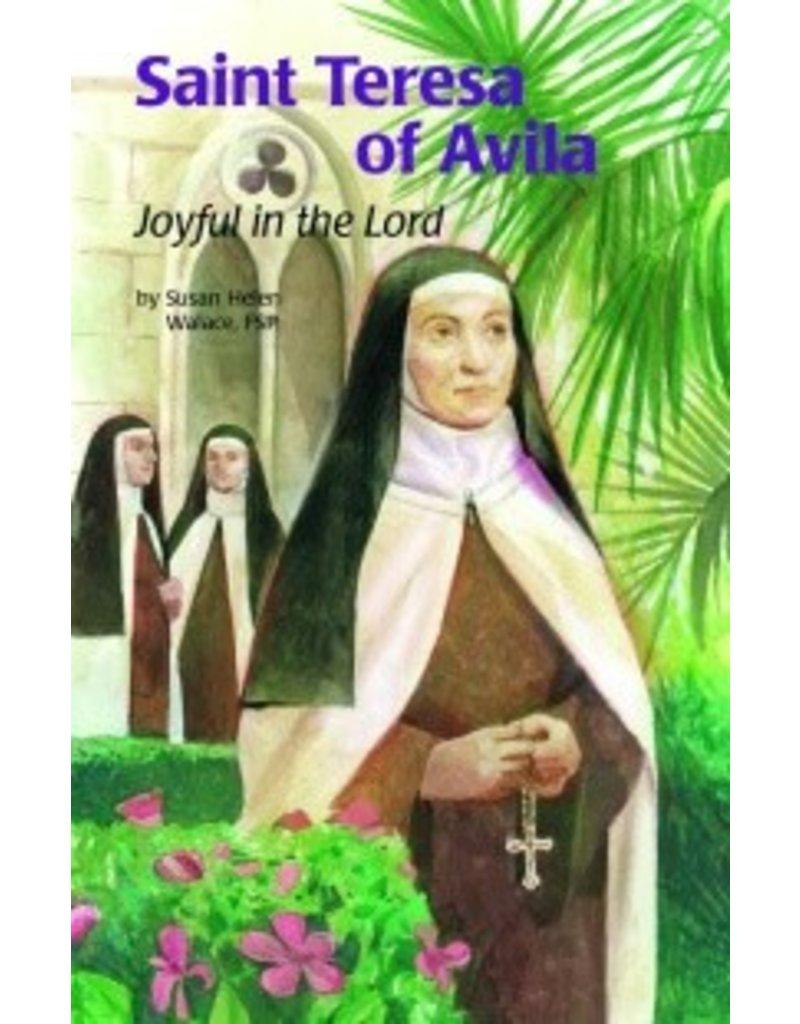 Pauline Books & Publishing Saint Teresa of Avila Joyful in the Lord