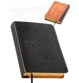 Fireside Catholic Publishing The NEW Catholic Answer Bible NABRE (Black) Large Print
