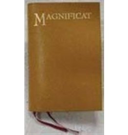 Leather Cover for Magnificat Tan