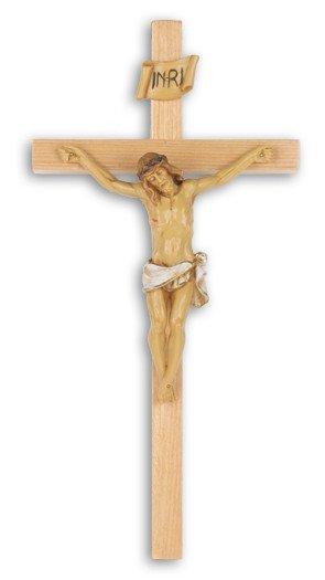 """WJ Hirten 13"""" Oak Crucifix"""