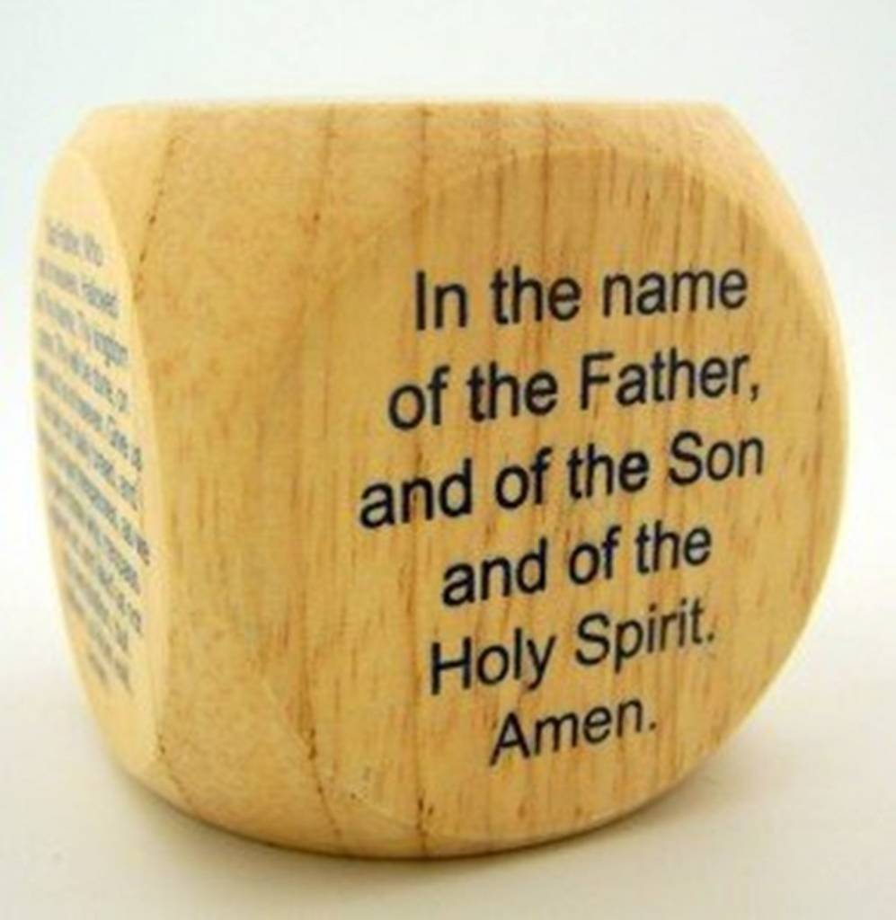 Sacred Traditions Wooden Prayer cube