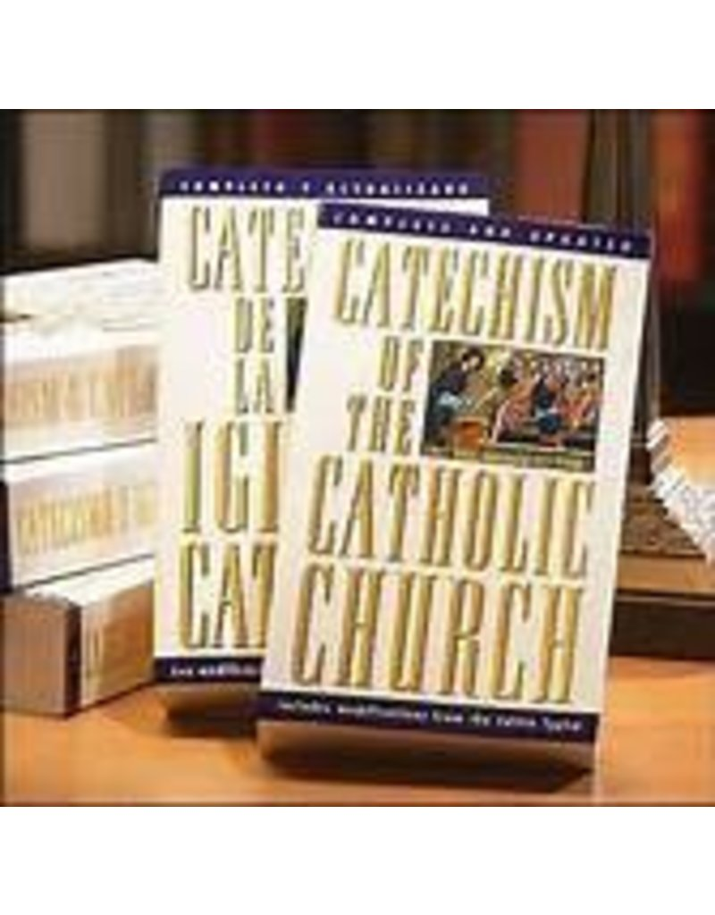 Doubleday Catechism of the Catholic Church (Small White)