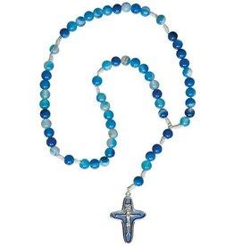 Sine Cera Blue Children's Gemstone Rosary
