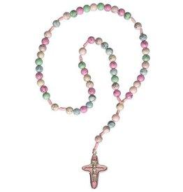 Sine Cera Rainbow Children's Gemstone Rosary