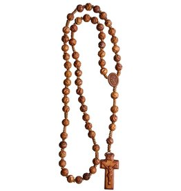 Sine Cera Carved  Jujube Wood Rosary