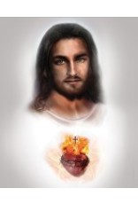 Thomas Valle 12 X 16 Sacred Heart of Jesus Print