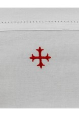 "MDS 100% Cotton Purificator with 3-Pointed Red Cross 20"" x 11"""