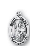 "HMH Religious SS DOMINIC W/ 20"" CHN"
