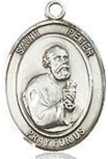 """Bliss Manufacturing SS PETER OVAL MEDAL W/ 20"""" CH"""