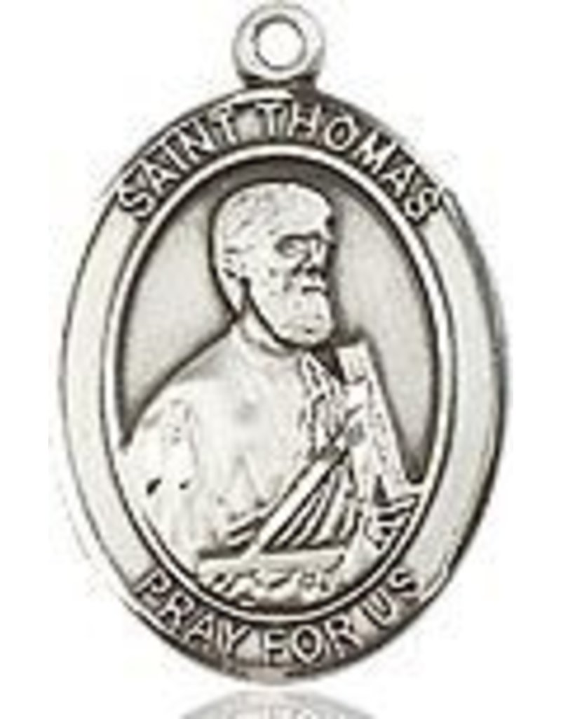 """Bliss Manufacturing SS THOMAS THE APOSTLE MEDAL W/ 20"""" CH"""