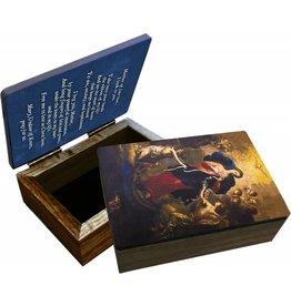 Nelsons Fine Art and Gifts Mary Undoer of Knots Keepsake Box