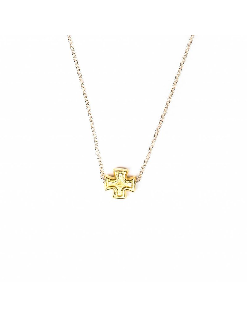 My Saint My Hero Faith Petite Necklace - Gold