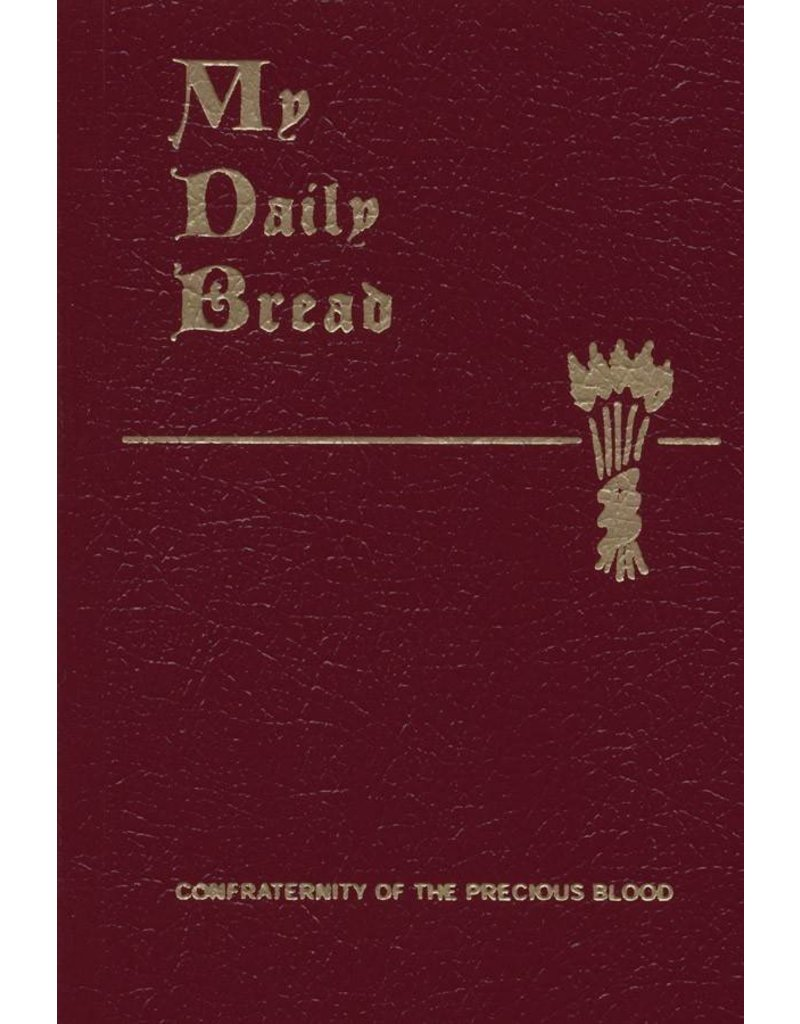 Confraternity of the Precious Blood My Daily Bread Prayer Book