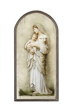 "Christian Brands 15"" Divine Innocence Arched Plaque"