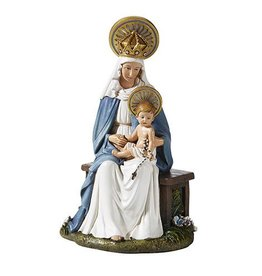 """Christian Brands 6.5"""" Madonna and Child Seated"""