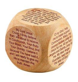 Christian Brands First Communion Prayer Cube