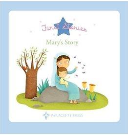 Paraclete Press Mary's Story Board book by Mélanie Grandgirard
