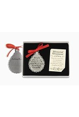 Cathedral Art God Saw Her Getting Tired Teardrop Memorial Ornament, 2-3/4-Inch
