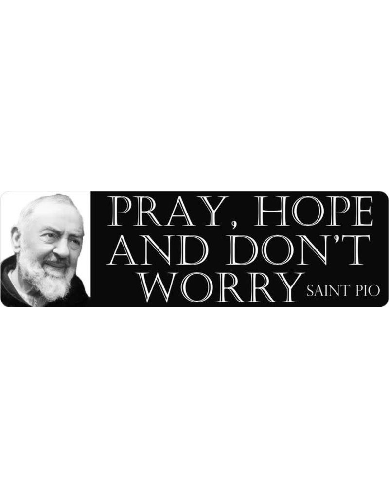 Wallace Brothers Manufacturing St. Padre Pio Car Magnet