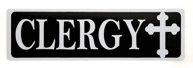 Wallace Brothers Manufacturing Clergy Magnet