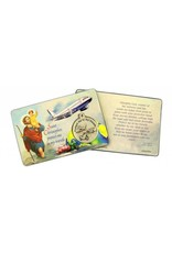 Lumen Mundi Traveler's Prayer Card With Medal